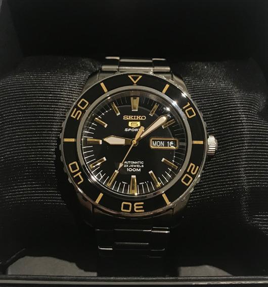 Relógio Automático Seiko Snzh57 Fifty Five Fathoms