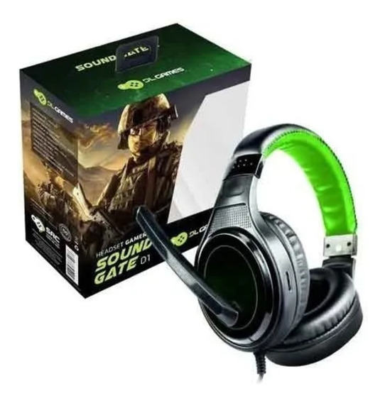 Headset Gamer Dl Sound Gate Original