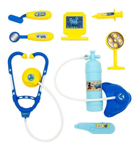 Kit Medico Com Colete Mickey - Toyng