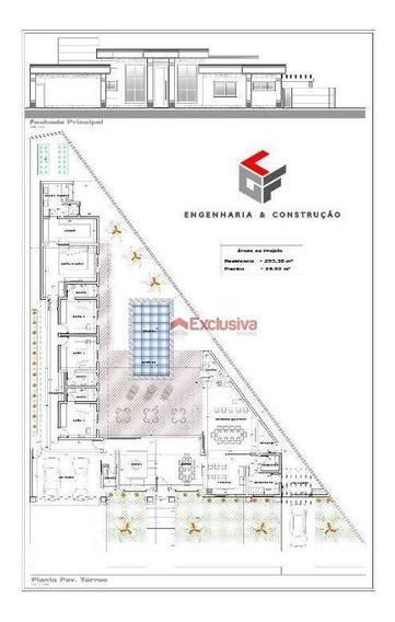 Terreno À Venda, 700 M² Por R$ 460.000,00 - Condomínio Villa Lobos - Paulínia/sp - Te0649