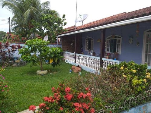 Casa Com 3 Dormitórios À Venda, 179 M² Por R$ 450.000 - Ponta Grossa - Maricá/rj - Ca3958