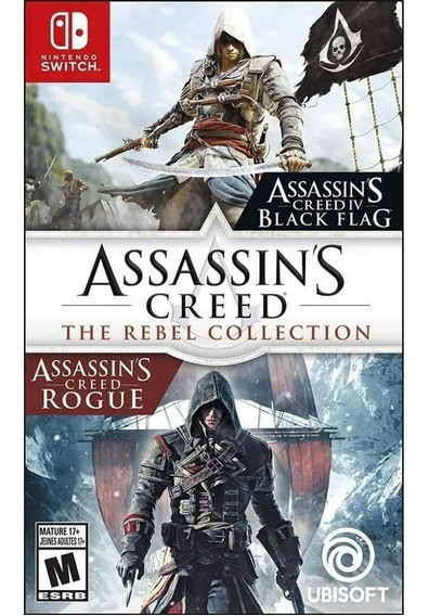 Jogo Assassins Creed The Rebel Collection - Switch - Novo