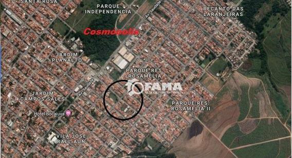 Terreno À Venda, 509 M² Parque Residencial Rosamélia - Cosmópolis/sp - Te0534