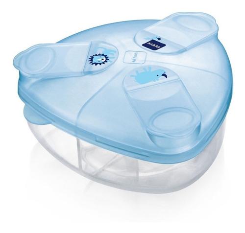Dispensador Mam Milk Powder Box Azul - Bebés  Y Niños