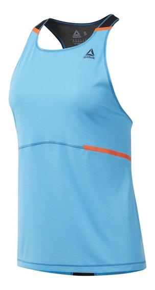 Reebok Remera Musculosa Running Mujer Boston Tc Singlet Cte