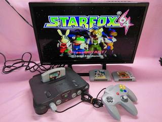 Consola N64 Nintendo 64 Completo Con 1 Juego A Escoger