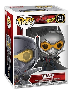 Funko Pop Wasp Marvel 341 Ant Man Funko Scarlet Kids