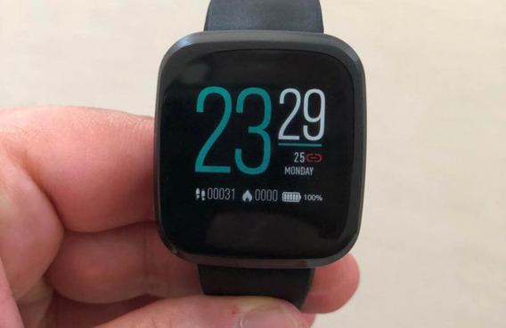 Smartwatch Zeblaze Crystal 3 Pulseira Vinho C/ Oxímetro