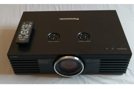Projetor Panasonic Full Hd Pt Ae3000 Cinema Lampada Nova