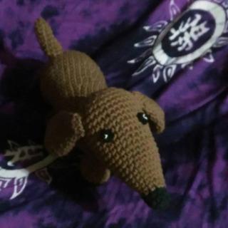 Perro Salchicha Crochet Amigurumi El Cristal Encantado