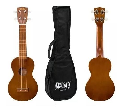 Ukulele Ukelele Soprano Mahalo Mk1 Series Caoba Con Funda
