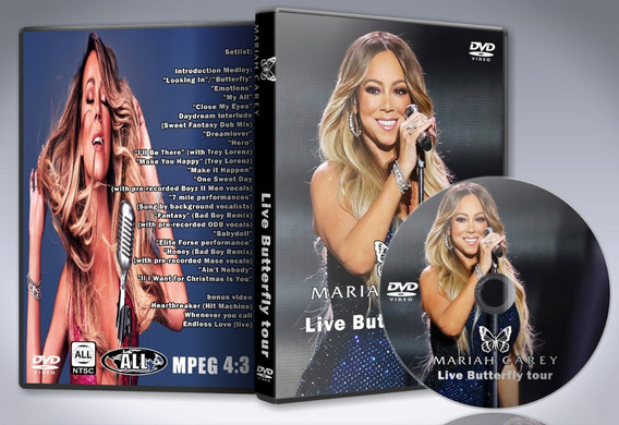 Dvd Mariah Carey - Live Butterfly Tour