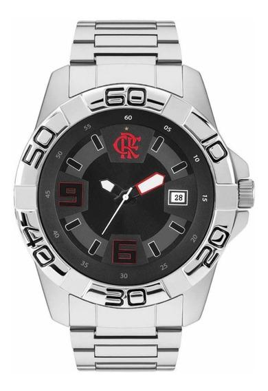 Promoçã Relógio Flamengo Edição Extra Todo Em Aço Inoxidável