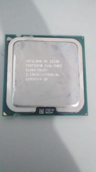 Processador Dual Core E2200 2,20ghz /1m /800/06 Ref: A173
