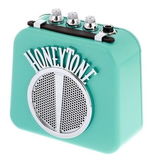 Mini Amplificador Danelectro N10 Honey Tone Negro Rojo Aqua