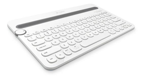 Logitech Teclado Inalámbrico Multi-device K480 Blanco