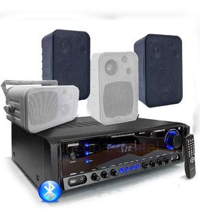 Combo Música Funcional 6 Bafles Consola 1612 Bluetooth Usb