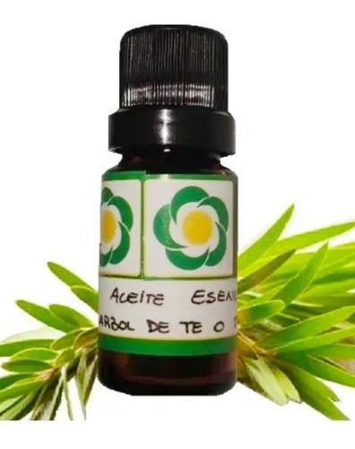 Imagen 1 de 1 de Aceite Esencial De Tea Tree O Árbol De Té Puro Orgánico 10cc