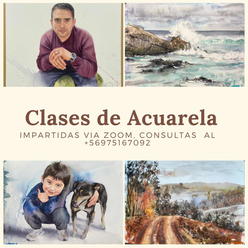 Cursos Online De Acuarela Vía Zoom