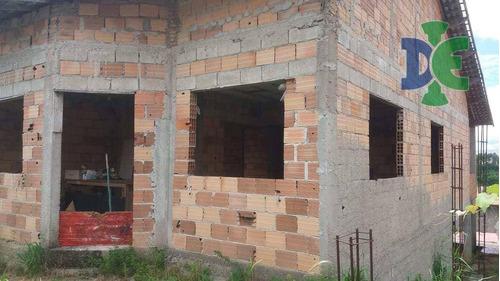 Casa Com 3 Dormitórios À Venda Por R$ 225.000 - Cidade Salvador - Jacareí/sp - Ca0131