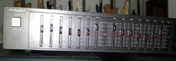Equalizador Technics Sh-8028 Estéreo 14 Banda Bivolt Perfeto