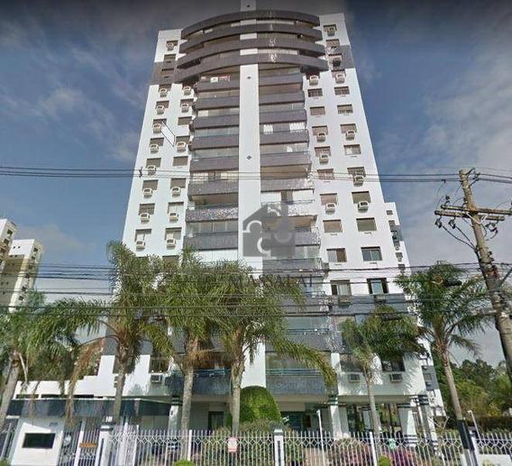 Apartamento 3 Dormitórios Com Garagem À Venda, Cristal, Porto Alegre. - Ap1438