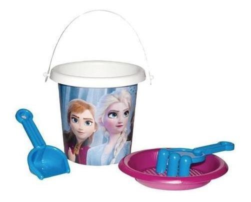 Baldinho De Praia Balde Acessórios Disney Frozen 2 Rosita