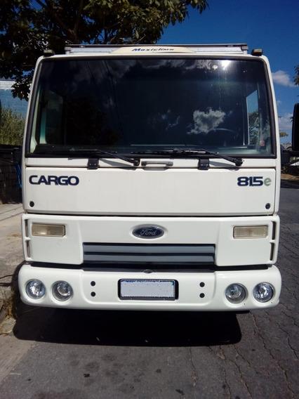 Ford Cargo 815e 2010 Bau