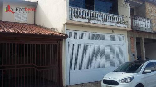 Sobrado Residencial À Venda, Nova Era, Caieiras. - So0546
