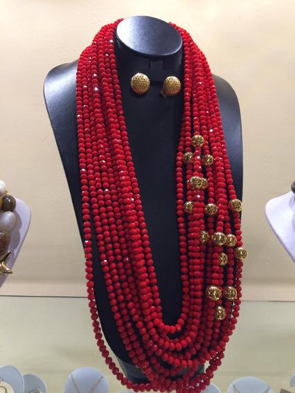 Collares Y Pulseras De Piedras, Cristales Y Perlas