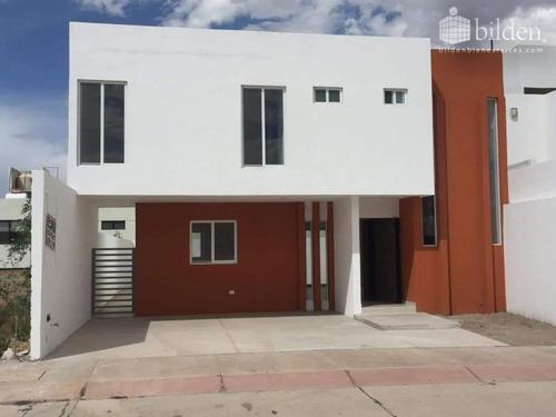 Imagen 1 de 12 de Casa Sola En Venta Fracc. Privadas De Sahuatoba Durango