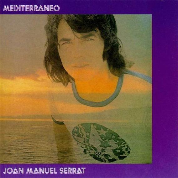 Joan Manuel Serrat Mediterraneo Vinilo Nuevo Lp 2019