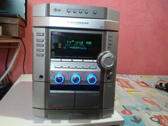 Mini System LG Ffh-986a. Para Retirar Peças. Não Sai O Som.