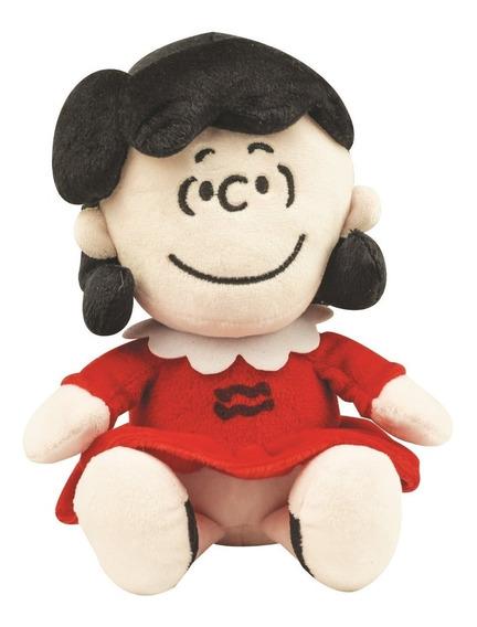 Lucy De Pelucia Original Snoopy Peanuts - 20cm Original Dtc