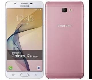 Celular Samsung Galaxy J7 Prime Colo Rosa Con Blanco Usado