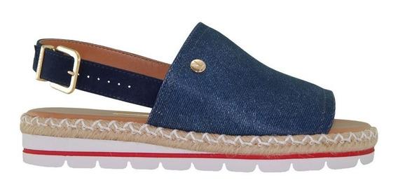 Sandália Vizzano Avarca Jeans Azul Escuro 6388100 Moda 2019