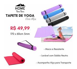Tapete De Yoga Evamax 170cm X 60cm X 5mm