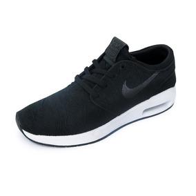 Tênis Nike Sb Air Max Stefan Janoski 2 Preto E Branco