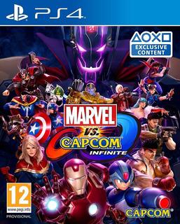 Marvel Vs. Capcom: Infinite Ps4 - Fisico