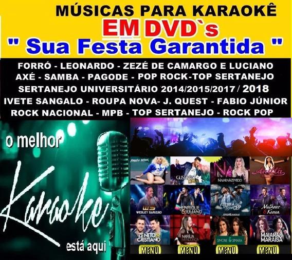 17 Karaokê Sertanejo Universitário, 2018, 2017 Pop Rock Mpb