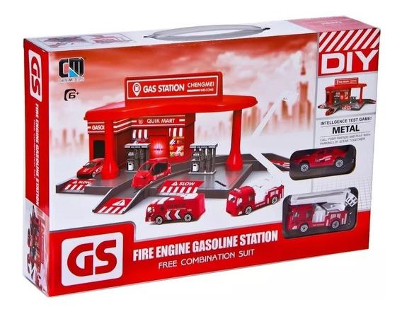 Estacion De Servicio Gasolina Bomberos Gs Diy