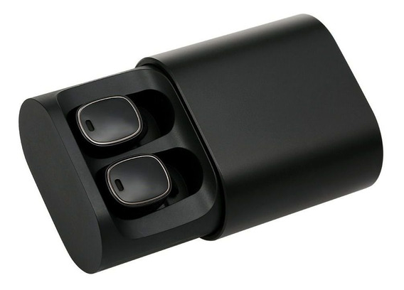 Fone Bluetooth Qcy T1 Pro V5.0 Tws Case Sem Fios Preto