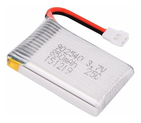 Bateria 3.7v 850ma Drone Syma Sanmatoys X5 S309 Rq777 H5jjrc