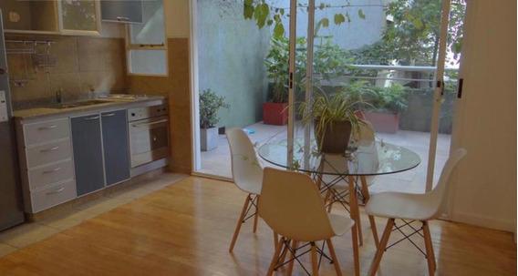 Alquiler C/ Muebles/ Venta Departamento 2 Amb Patio Y Balcón Aterraz - Palermo - Las Cañitas