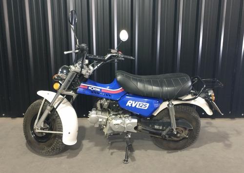 Moto Usada Mondial Rv 125 - 3.800 Km