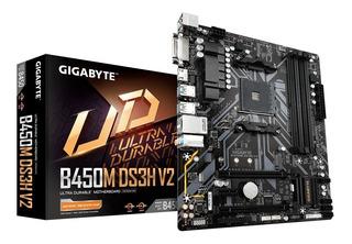 Board Gigabyte B450m Ds3h V2 Amd