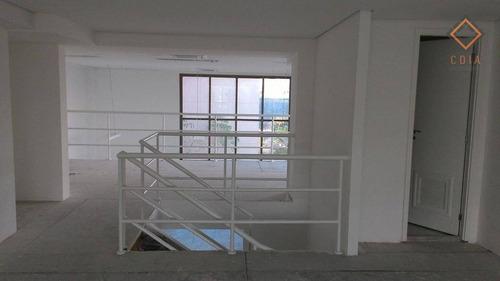 Conjunto Para Alugar, 202 M² Por R$ 10.500,00 - Brooklin - São Paulo/sp - Cj20205