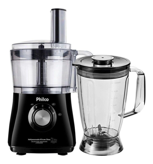 Multiprocessador Philco All in One 2 Citrus 800W preto 220V