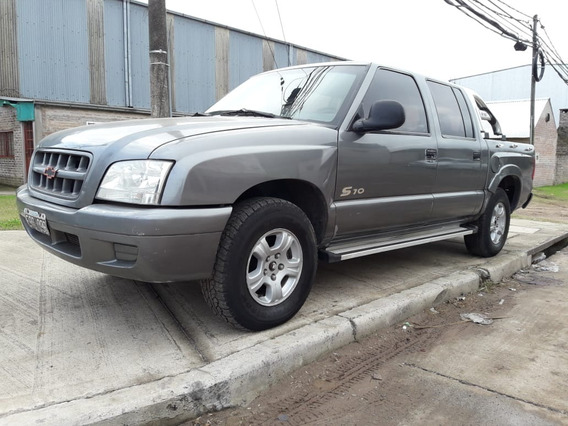 Chevrolet S-10 Año 2004 Aire/direcc 4x2 Cabina Doble (mwm)