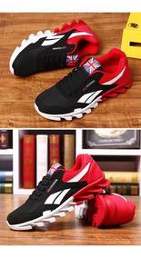 Tênis London Sport Preto/vermelho